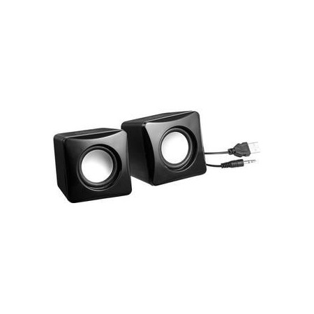 SPEAKERS USB 2.0 BLACK