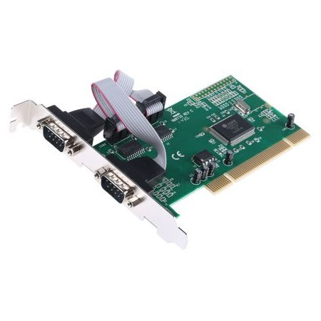 PCI 2 SERIES DB9 DEXLAN SERIES CARD