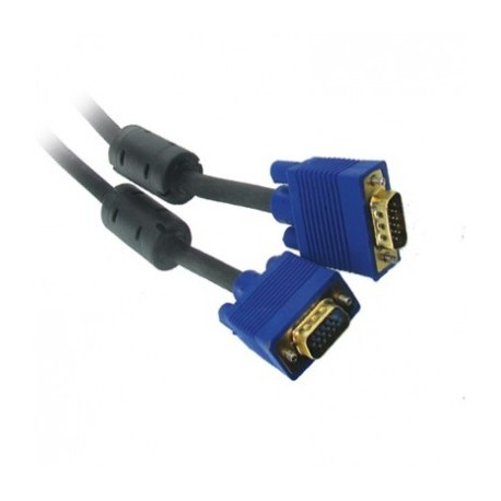 STANDARD SVGA CORD MALE TO MALE 1.8M WITH FERRITES