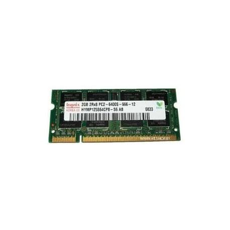MEMORY 2GB DDR2 PC6400 SODIM