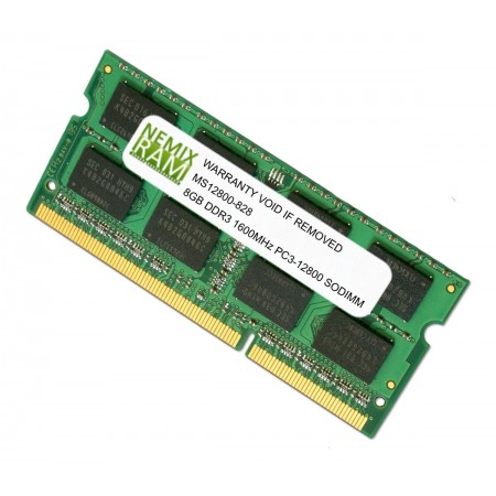 MEMOIRE 8GB DDR3 PC3-12800 1600Mhz SODIMM