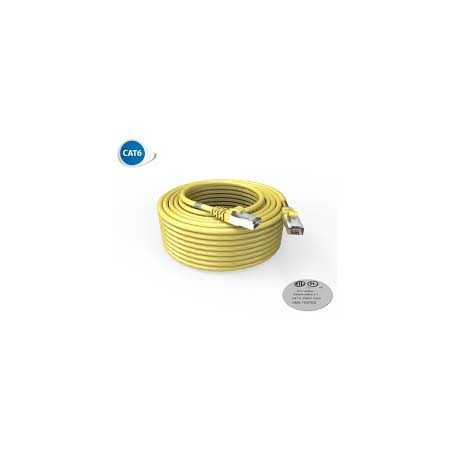 CORD PATCH RJ45 CAT6 FTP 20M GREEN