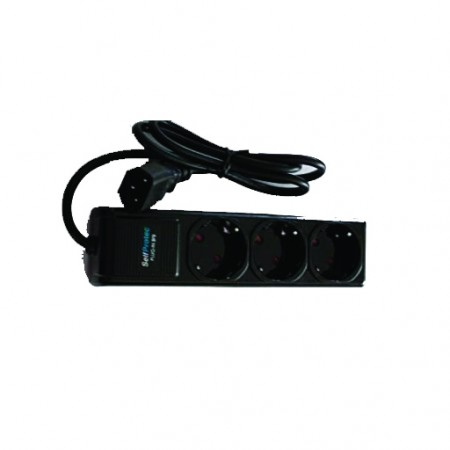 MULTIPRISE OUTPUT INVERTER 3 SOCKETS 2P + T SEFTPROTECT