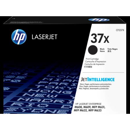 HP 37X - HP CF237X Black Laser Toner Black - 25000 pages
