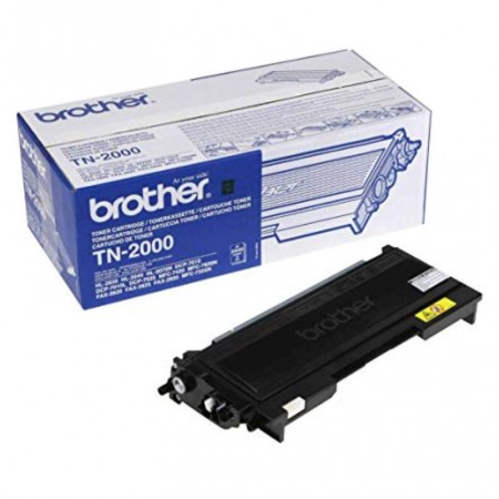 TONER BROTHER TN-2000 HL-2030/DCP-7025 / MFC-7225N/FAX-2820 BLACK COLOR 2500 pages