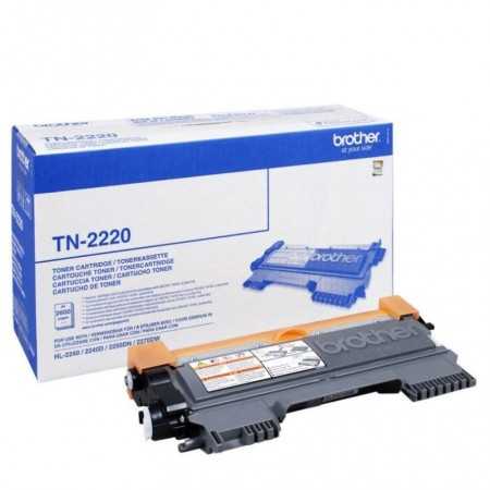 TTONER BROTHER TN-2220 DCP 7060D/7065DN/7070DW BLACK COLOR 2600 pages