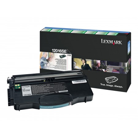 TONER LEXMARK BLACK E120/E12 2000 PAGES