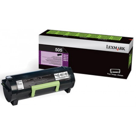 TONER LEXMARK BLACK 505  1500 PAGES